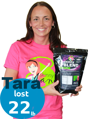 Tara lost 18 pounds with SkinnyJane